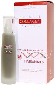 Inventia Přírodní kolagen Inventia HAIR & NAILS - na VLASY A NEHTY - Triple Helix Formula - Živý kolagen